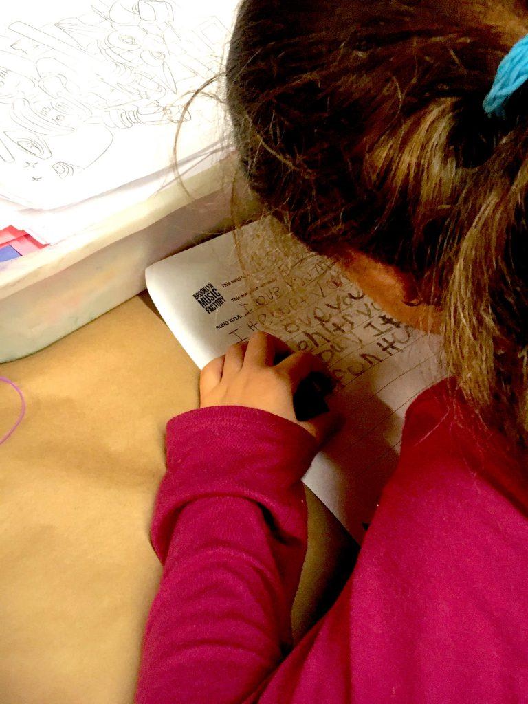 kids songwriting