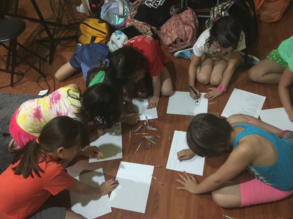 songwriting camp for kids